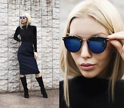 Margo Bryksina - Zerouv Sunglasses - Spectacle