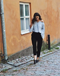 Mirella T. - Shein Blouse, Lindex Pants, Zara Shoes - Sunday blues.
