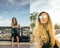 Andreea Chirila - Zaful Crystal Shoes, Zaful Sunglasses - Put Those Shoes On