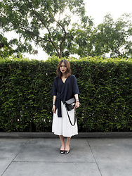 Leonie Leong - Proenza Schouler Bag, Zara Heels, Beyond The Vines Skirt, Beyond The Vines Top - I am what I am. I am what I wear.