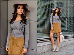 Rosalieeve - Tally Weijl Blouse, C&A Hat - Autumn outfit