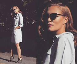 Petra Karlsson - Zaful.Com Dress, Shoes - Denim dress