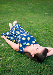 Lindsey Puls - Clema W. Lemon Dress, Jollyhollieday Bulbasaur Brooch - When Life Gives You Lemons...