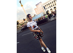 Ceci Bloom - Sinsay Skirt, Raw Wear Top - One day in Kiev
