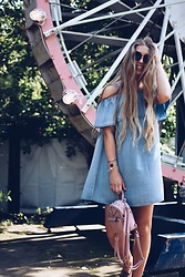 Triinu Ollema - Lindex Denim Dress - Denim dress