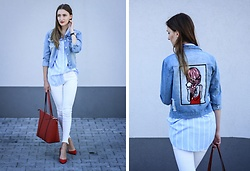 Charlotte . - Zaful, Parfois - Denim jacket