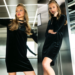 Frederique - fablefrique.com -  - That velvet dress