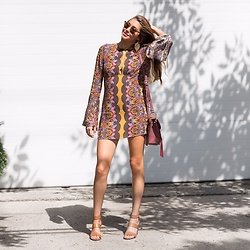 Gabrielle L. - Free People Ossie Vibes Keyhole Tunic, Steve Madden Tan Wedges - Free people, you have done it again