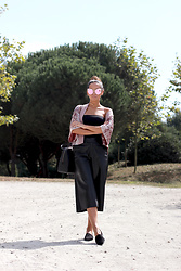 Bárbara Marques - Zara Kimono, Suiteblanco Culottes, Michael Kors Bag, Primark Flats - Feels so good