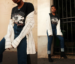 Remi Afolabi - H&M Shirt, Missguided T Shirt, Asos Jeans, Asos Boots - The Graphic Tee