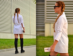 Martina Manolcheva - Zaful Shirt, Shoes, Celine Sunglasses - Emboroidered Birds