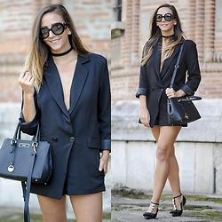 Manuella Lupascu - Dkny Bag, Prada Sunglasses, Jessica Buurman Shoes, Choies Romper - Alternative shopping destinations