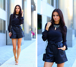 Anna Mour ♥ -  - Leather Shorts