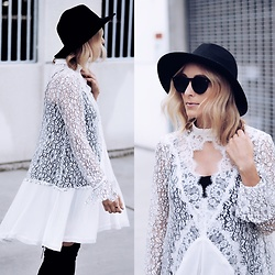 Lauren - Free People Dress - Winter Whites