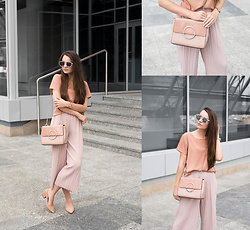Style on Camera _ - Shein Sunnies, Shein Pants - Total Nude Look