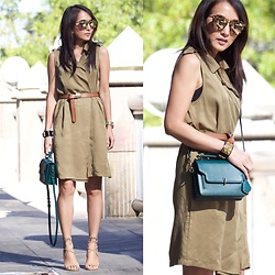 Stylemylinh -  - Trench as dress
