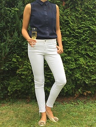 The Deep Style - Zara White Jeans - White Jeans