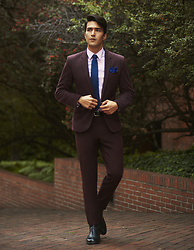 Andres Espinosa - Asos Suit, Ac Tie And Square Pocket - The suit edition: The formal.