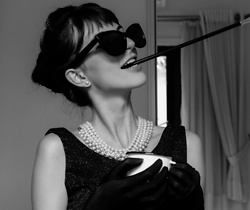 Marina Minassian - H&M Sunglasses - Holly Golightly