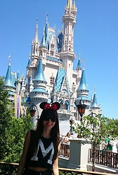 Marina Minassian - Zara T Shirt - M is for Magic Kingdom