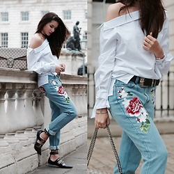 Lolita Mas -  - Embroidered Denim