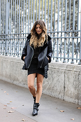 Marie And Mood - Zara Jacket - Rock outfit