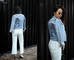 Kristy Wu -  - EMBROIDERED DENIM