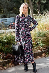 Anna Borisovna - H&M Dress, Mango Bag, Jessica Buurman Boots - Flower Power