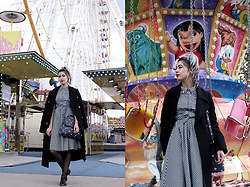 Léopoldine Cannibale - Metisu Dress, Marks & Spencer Coat, Lollipops Bag, Jonak Shoes - Be pretty like you