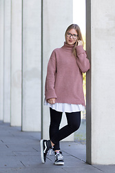 Another Lovely -  - Pink Turtleneck Pullover