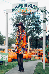 Gemini Tauberge - Asos Hat, Theyskens' Theory Boots, Uniqlo Tights - Pumpkin Patch