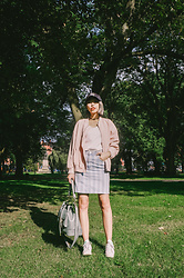 Kennie Cheng - Topshop Skirt, Adidas Trainer, Bessie London Bag - WITWORTH PARK