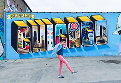 Enrique Sun - Uniqlo Jeans, Cheap Monday Denim - Greetings from Chicago