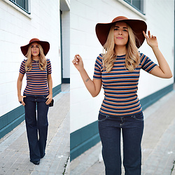 Cris M. - H&M Striped Top - That '70s Show