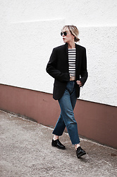 Daniella Robins - Vintage Levis Jeans - Today's Post: On Stripes, Ben & Jerry's & TK Maxx Knitwear….
