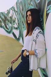 Liliana Rodrigues - Daniel Wellington Watch - SKATER LOOK