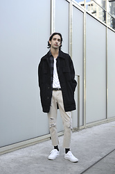 Fabio G. - Asos Jacket, Zara Jeans, Weekday Belt, H&M Shirt, Topman T Shirt, Vans Shoes - REBIRTH