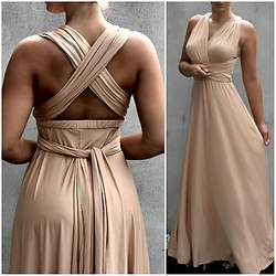 Fashion Statements By Q - Shoptique Nude Evening Dress - The perfect nude dress