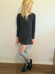 Ju -  - High socks oool dress