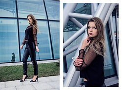 Marcela Wlodarczyk - Bershka Top, Pull&Bear Leggins, Renee Heels - I am the bonfire