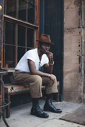 STEVEN ONOJA - Perry Ellis Pants - Rude boy