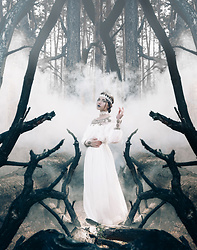 Daniela Guti - Dresslily Dress, Dresslily Choker, Dresslily Hairband - SPIRIT OF THE PAST: HALLOWEEN