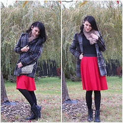 Madziastylee -  - Tweed coat and skirt