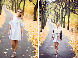 Dominika P. - Rosegal Dress, Kappahl Leather, Bershka Vest, Bershka Boots - 109