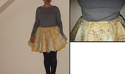 Selina - Self Made Skirt From Umbrella - Umbrella skirt