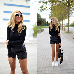 Cris M. - Vintage High Waisted Shorts - Sneakers are the Key
