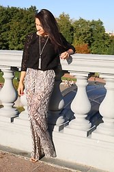 Getman Marina - Zara Pants, H&M Blouse, Get Man Jewelry Pearl Sotuar - Warm mood