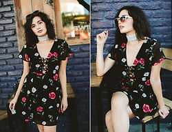 Michelle Dion - Forever 21 Floral Dress - Florals for Fall?