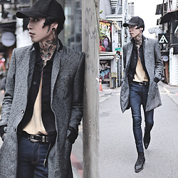 IVAN Chang - Tastemaker 達新美 Jacket, Asos Jeans, Asos Boots, River Island Cap - 021116 TODAY STYLE
