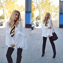 Cris M. - Zara Blouse - The Perfect White Blouse